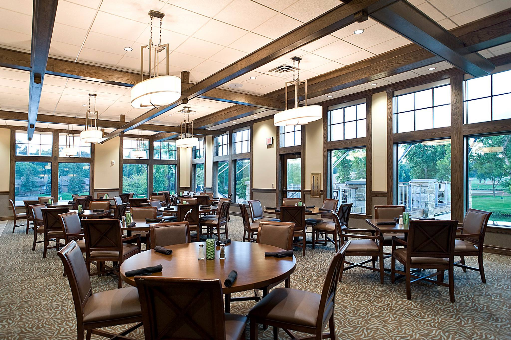 The Country Club of Sioux Falls Member's Dining Room South Dakota