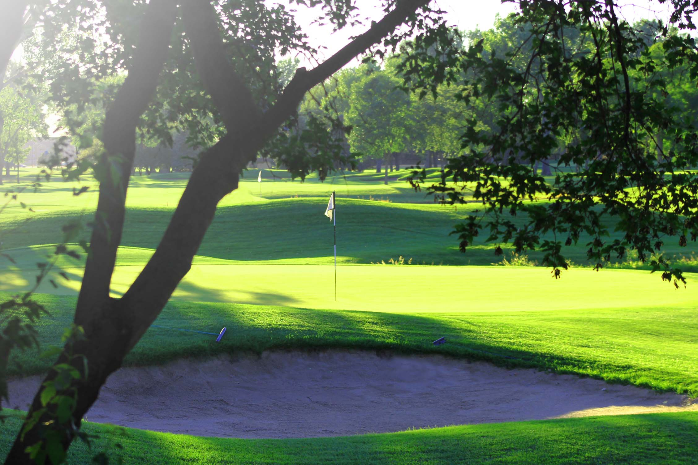 The Country Club of Sioux Falls golf course in South Dakota