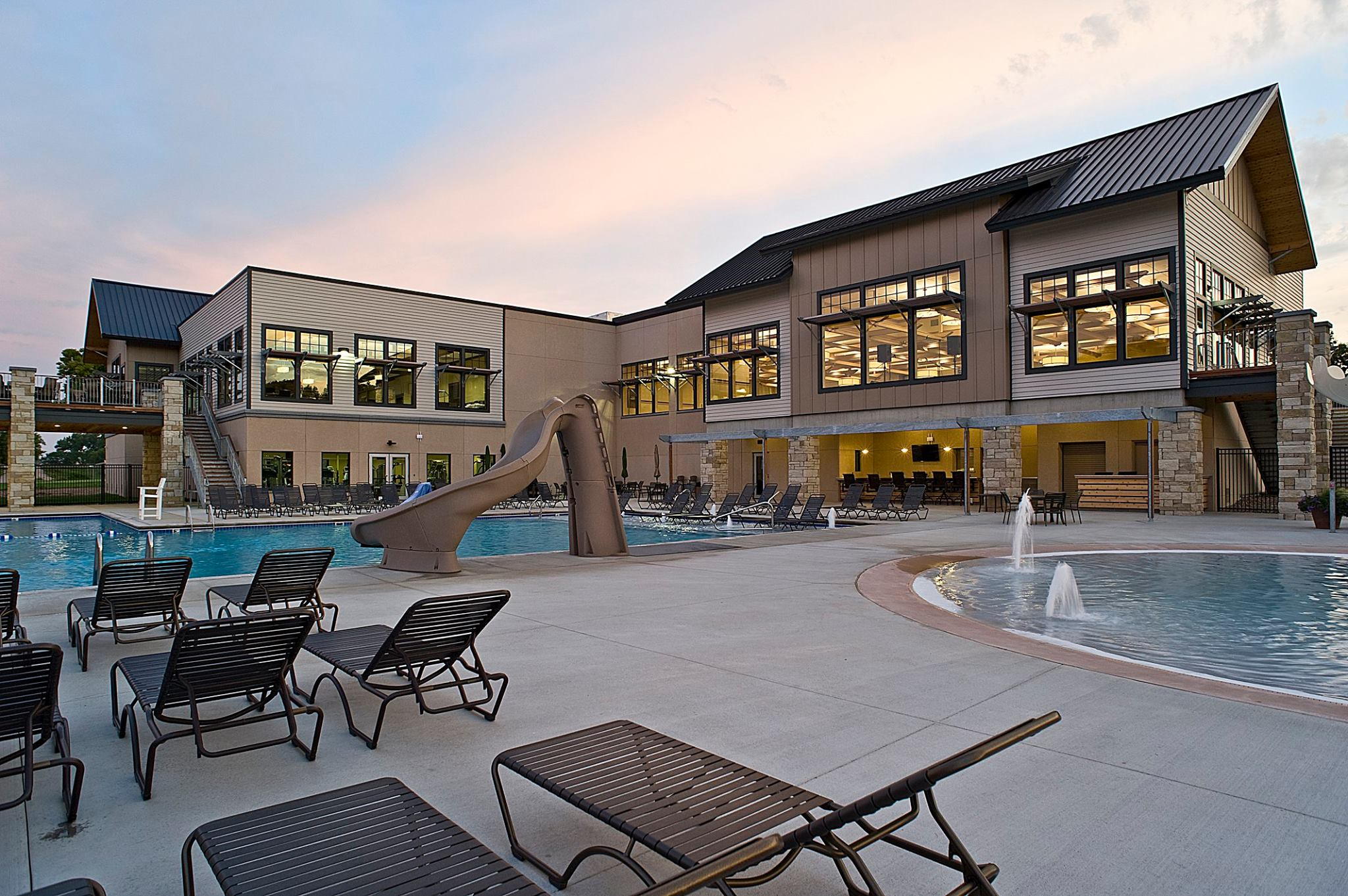 The Country Club of Sioux Falls pool South Dakota