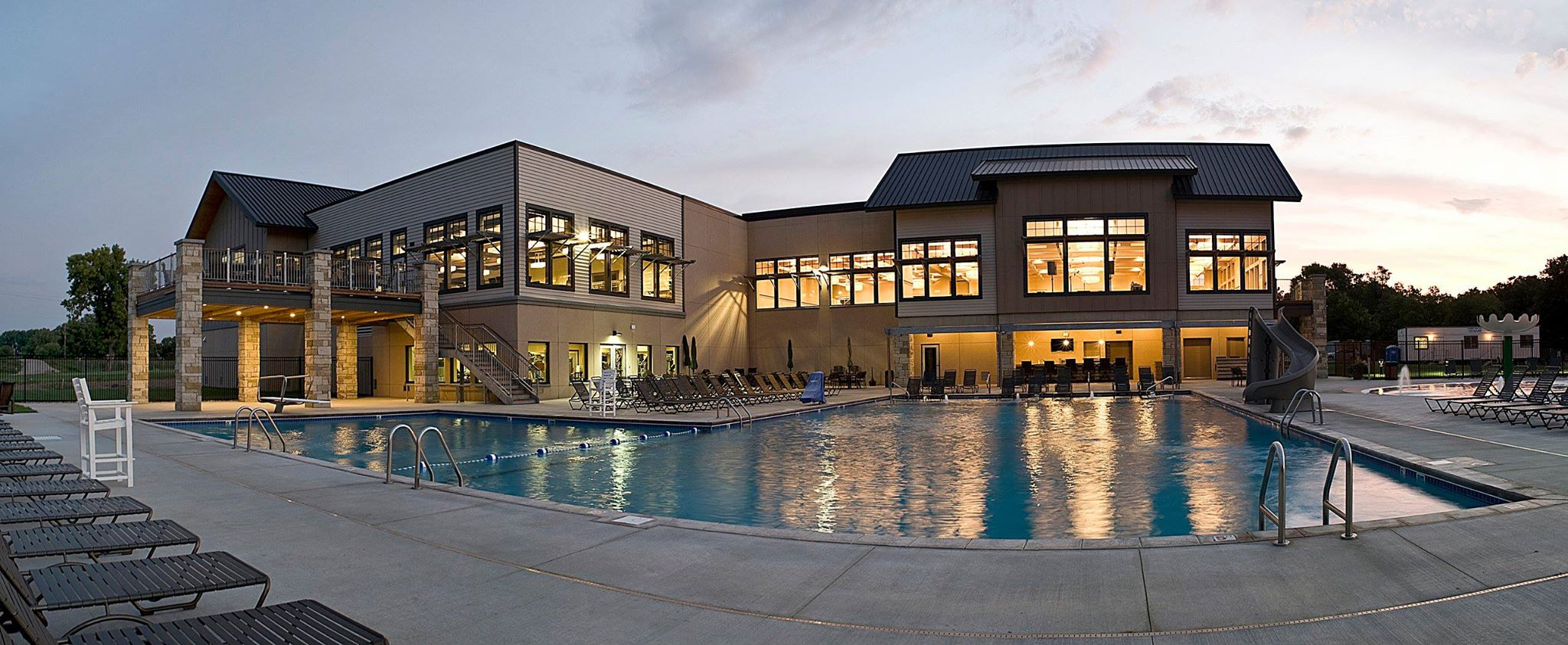 The Country Club of Sioux Falls pool and wellness center South Dakota